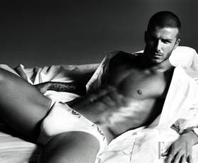 David Beckham za spodnje perilo Armani