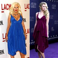 Christina Aguilera in Taylor Swift (foto: Fotografija RedDot)
