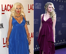 Dvoboj: Christina Aguilera in Taylor Swift
