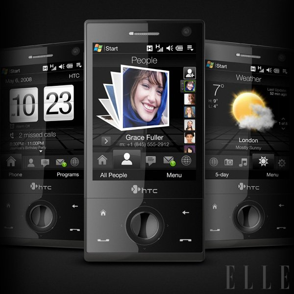 HTC Touch Diamond - Foto: Fotografija promocijski material