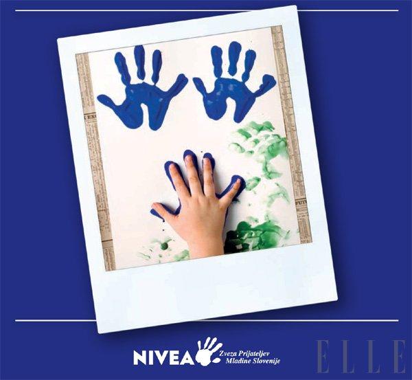 NIVEA - Podajte nam roko! - Foto: Fotografija promocijsko gradivo