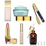 Nekaj izdelkov Estée Lauder, ki smo jih uporabili v videu. (foto: Fotografija promocijsko gradivo)