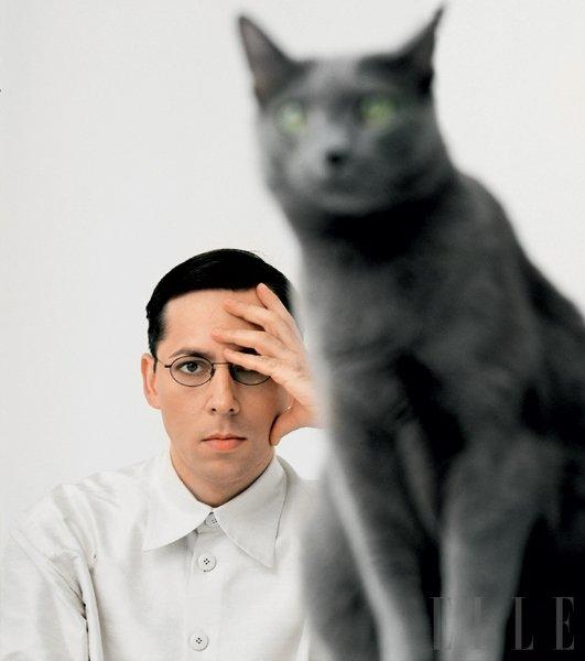Alan Hranitelj: »Mačka nekaj ima.« - Foto: Fotografija Dejan Habicht