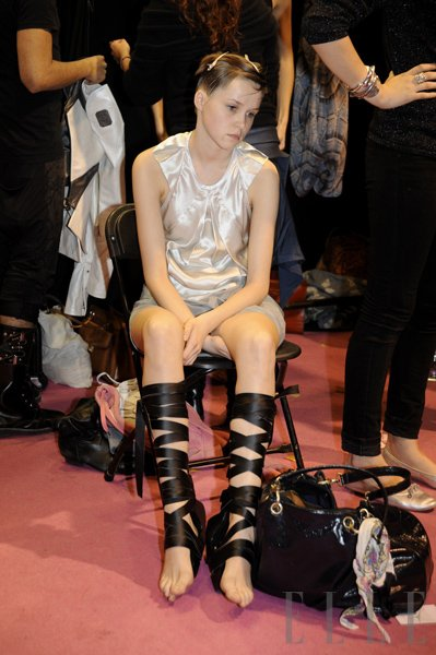 London fashion week, SS 2010 - Foto: Fotografija Imaxtree