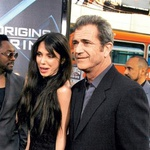 Mel Gibson in Oksana Grigorieva (foto: Fotografija arhiv govori.se)