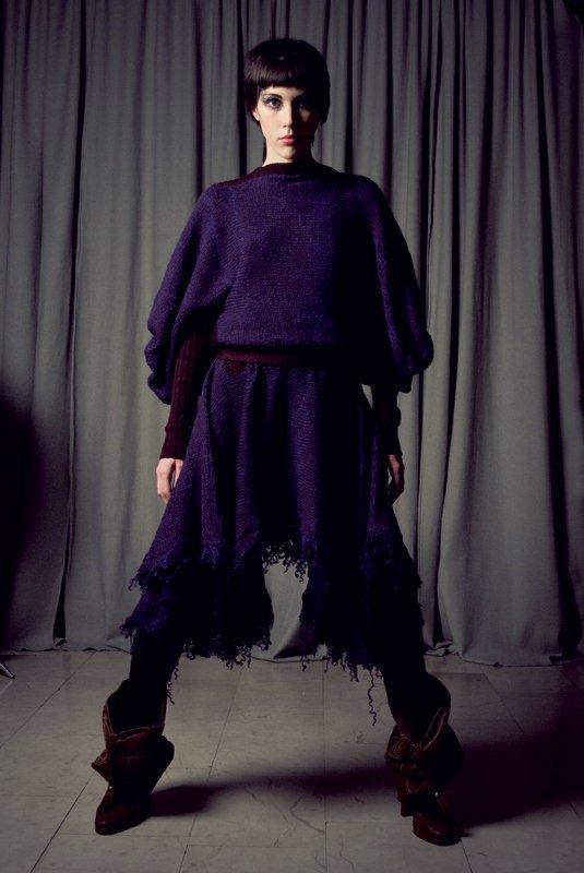 Peko in Nika Ravnikar na londonskem tednu mode - Foto: Fotografija promocijsko gradivo