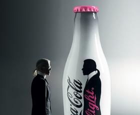 Karl Lagerfeld na Coca-Cola light