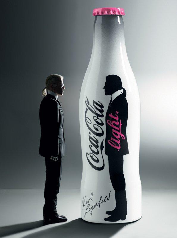 Karl Lagerfeld na Coca-Cola light - Foto: Fotografija Karl Lagerfeld 2010, Fotografija promocijsko gradivo