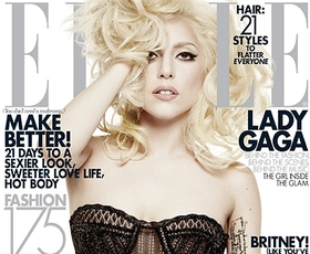 Lady GaGa, zakulisje snemanja naslovnice