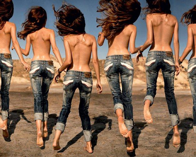 Nostalgija v modrem - Foto: Fotografija Salsa Jeans