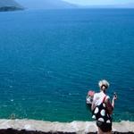 Ali lahko kdo verjame, da je na sliki samo jezero? (foto: Fotografija Petra W.)