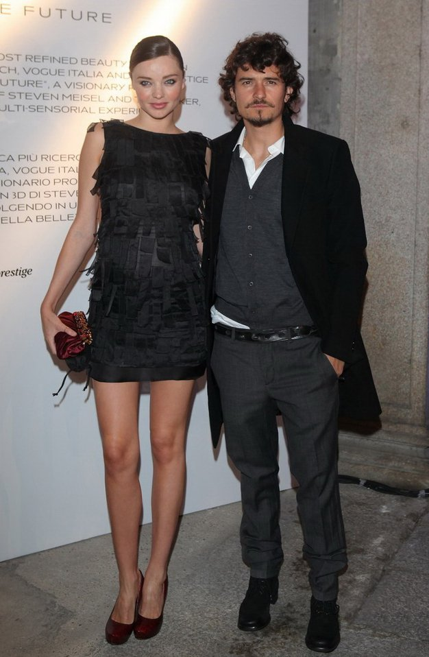 Miranda Kerr, Orlando Bloom - Foto: Fotografija promocijsko gradivo Prada