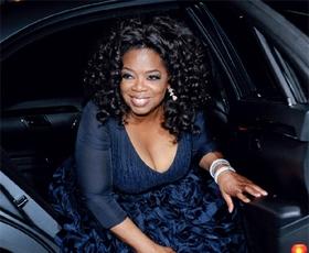 Oprah Winfrey nosi Victorio Beckham