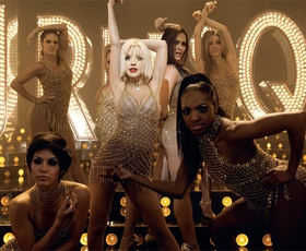 Cher in Christina Aguilera: Burlesque 2010