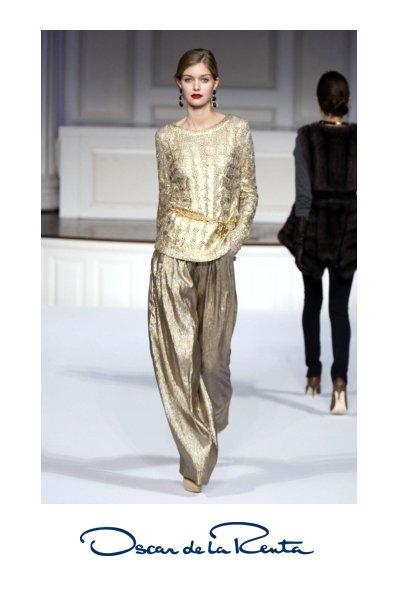 Trend: zlata - Foto: Fotografija oscardelarenta.com