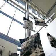 Razstava tekstilnih izdelkov (foto: Marica Starešinič in Jure Skubic)