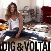 Erin Wasson za Zadig & Voltaire (foto: Promocijsko gradivo)