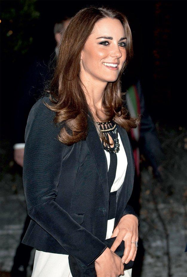 Najljubši kosi Kate Middleton - Foto: GettyImages