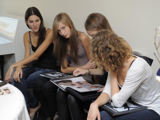 Avdicija modelov za Philips Fashion Week - Foto: Primož Predalič