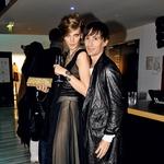 Valerija Kelava in Uroš Belantič na oktobrskem Philips Fashion Weeku (foto: Sašo Radej)