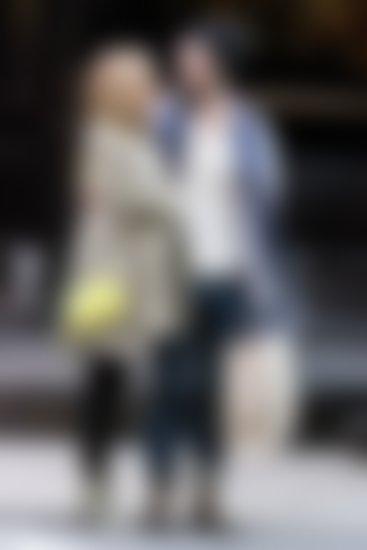 Sienna in Tom med sprehodom po New Yorku. Foto: Profimedia