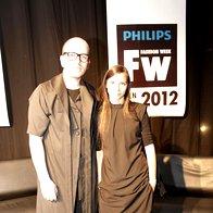 Peter Movrin in Petja Zorec (foto: Andrej Nemec)