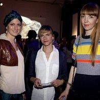 Nika Veger, Dunja Mantel in Petra Windschnurer (foto: Andrej Nemec)