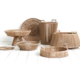 Piet Hein Eek: »Pravične« košare iz palmovine