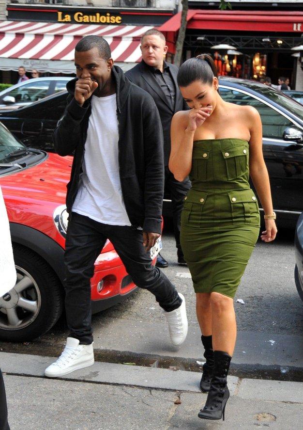Kim in Kanye: Prihaja dojenček! - Foto: Profimedia