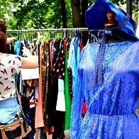 Foto: Nostalgična tržnica sredi parka Tabor (foto: Nina Štajner)