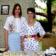 Tjaša Gračner in Nina Štajner, vodji projekta Vintage Vikend (foto: Nina Štajner)