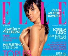 Kdo naj bo naslednja Slovenka na naslovnici Elle?