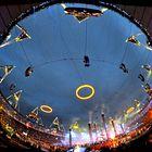 Foto: Pet krogov na nebu nad Londonom