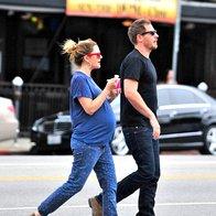 Foto: Sproščeni nosečniški stil Drew Barrymore (foto: Profimedia)