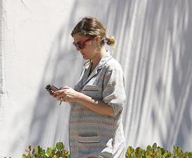 Foto: Sproščeni nosečniški stil Drew Barrymore