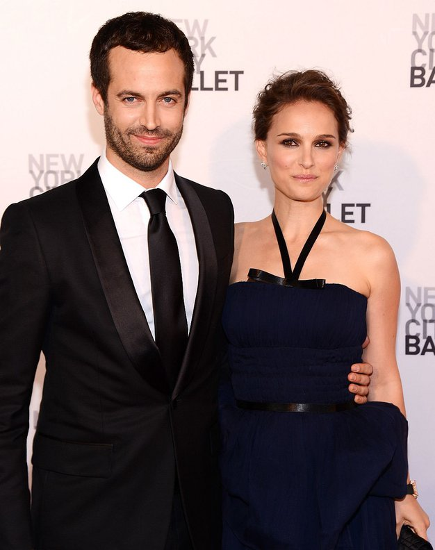 Benjamin Millepied in Natalie Portman - Foto: Guliver Image/Getty Images