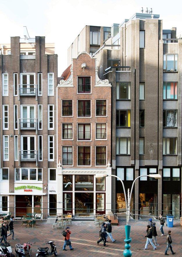 Hotel the exchange kjer arhitektura sre a modo dekor for Dekor hotel