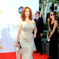 Christina Hendricks (obleka Christian Siriano) (foto: Getty)