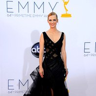 January Jones (obleka Zac Posen) (foto: Getty)