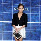 Foto: Slavni na reviji Chanel v Parizu