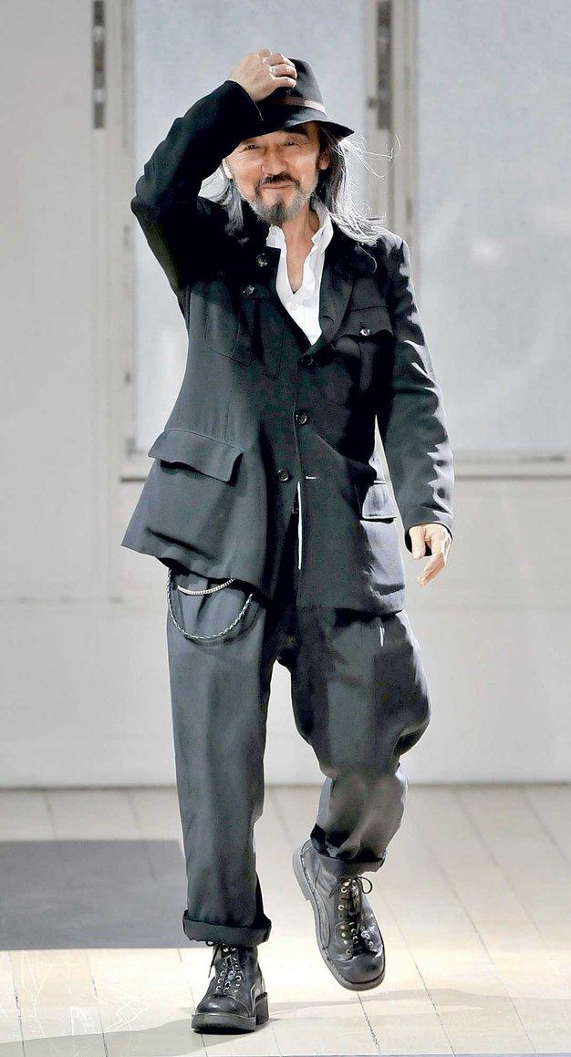 Yamamoto, črni pas mode - Foto: Imaxtree, promocijsko gradivo