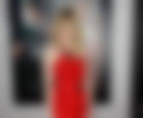 Emma Stone v rdečem: Lanvin in Louboutin