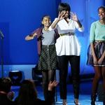 Michelle Obama, (prva) dama v rdečem (foto: Profimedia)