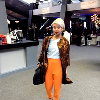 Foto: Miks in tvist na tednu mode v New Yorku (foto: Manca Čampa)
