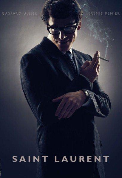 Gaspard Ulliel kot Yves Saint Laurent v filmu Saint Laurent