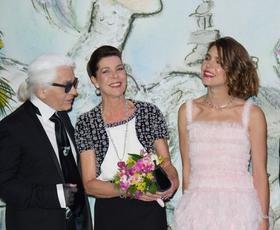Monaške lepotice oblači Chanel (in Lauren)