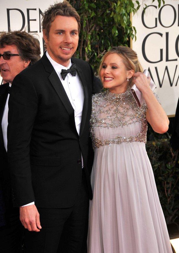 Kristen in Dax, nova starša v Hollywoodu