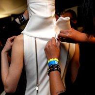 Foto: Pokukajte v zakulisje Philips Fashion Weeka! (foto: Helena Kermelj)