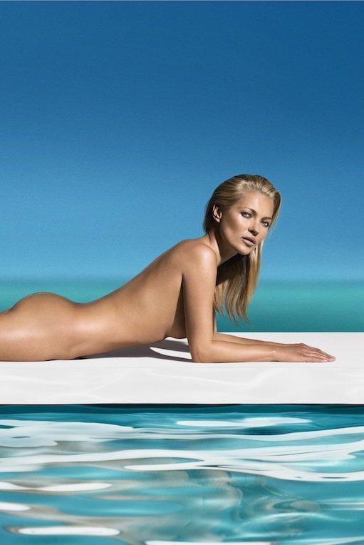 Kate Moss: Zagorela brez sončenja