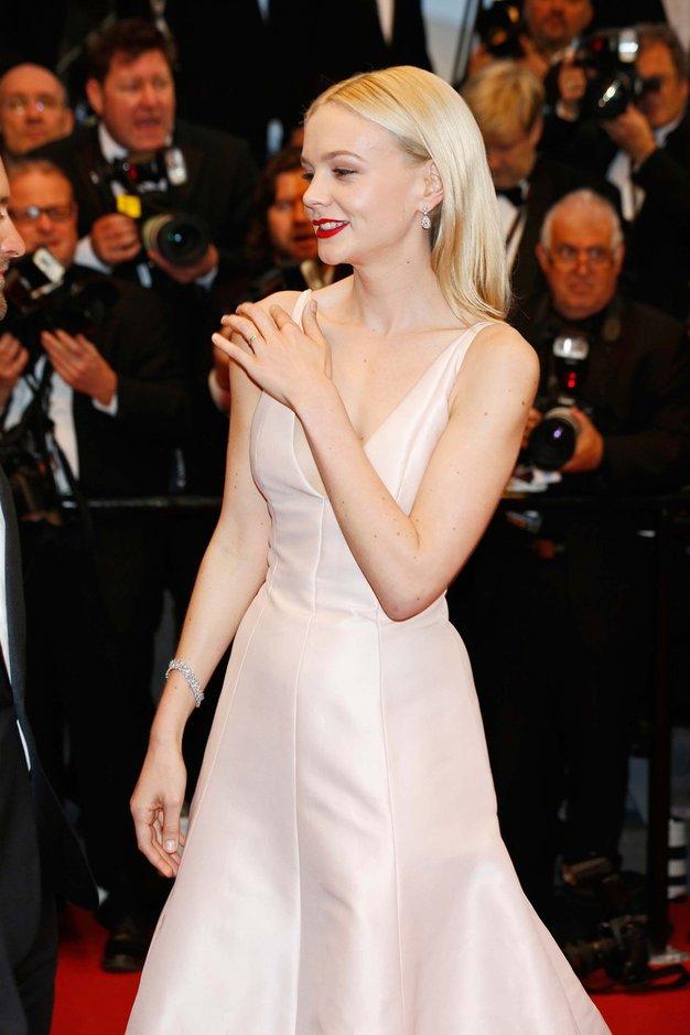 "Cannes: ""Gatsbyjeva"" Carey v Diorju - Foto: Profimedia"